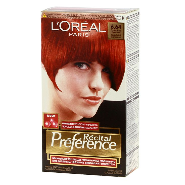 L39oreal Recital Preference 664 Dark Red Copper Blond  Httpwwwtransf