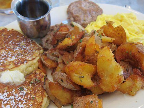 best crispy potatoes at Plow, SF
