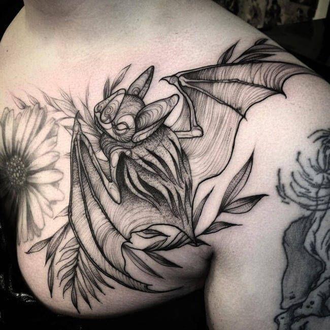 Tatuajes y bocetos, el estilo de Naomi Chi