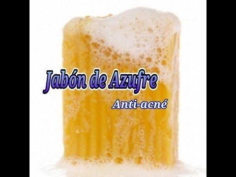 Hacer jabón de Azufre (Perfecto como tratamiento Anti-Acné)