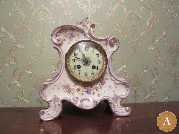 Часы каминные Самюэль Марти   Антикварус