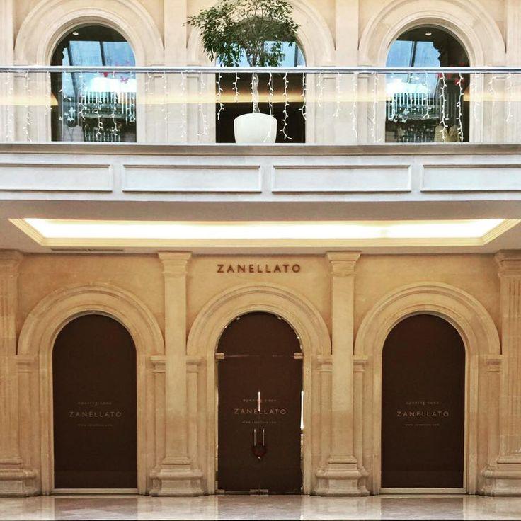 Zanellato new opening in Crocus City Mall in Moscow #zanellato #newopening