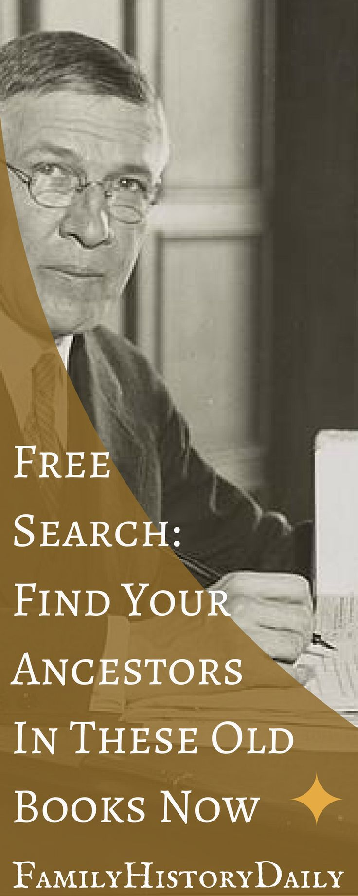 Old family history books can further your genealogy research and help you grow your family tree. Here are five free sites where you can discover your ancestry in the pages of a book. #freegenealogy #ancestry