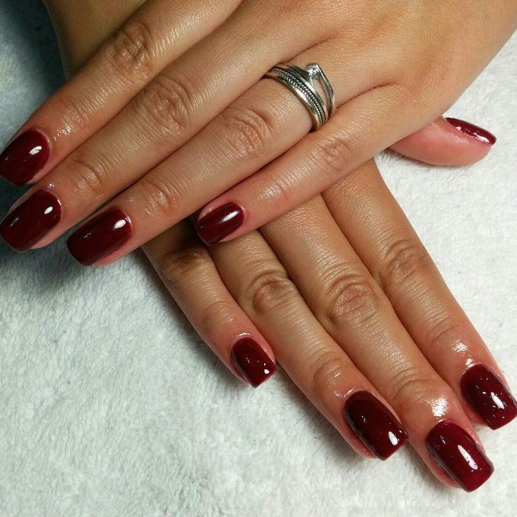 Red nails  #quesitotrc