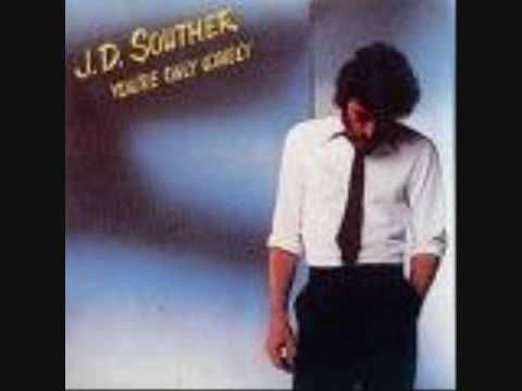 """J.D. SOUTHER - """" YOU'RE ONLY LONELY"""" hit # 7 in 1979, and this was JD's biggest hit. He's written songs for other artists and I believe even sat in and played with the EAGLES."""
