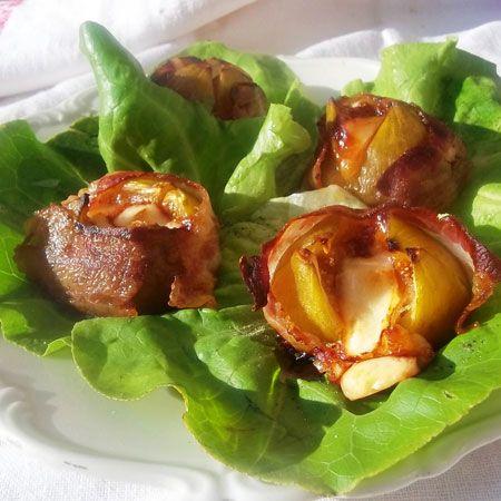 Kecskesajttal töltött füge bacon köntösben Recept képpel - Mindmegette.hu - Receptek