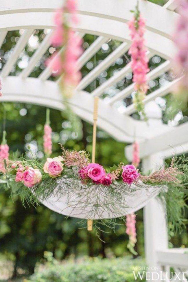 Decoração para o chá de panela: flores!