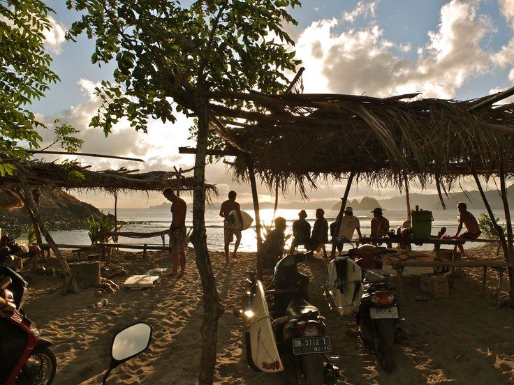Mawi beach, Lombok
