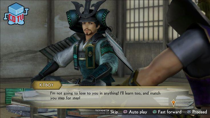 Samurai Warriors 4 Empires Castle Customization Gameplay
