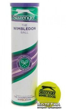 Мячи для большого тенниса Slazenger Wimbledon Ultra-Vis 4B (745053-13)
