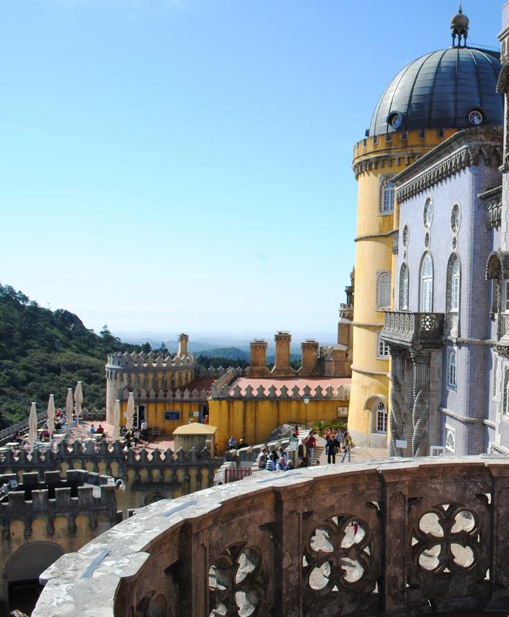 View from Palacio de Pena, Sintra, Portugal