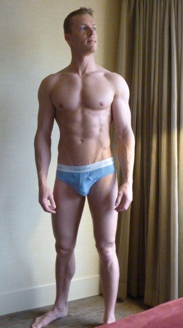 Took down underpants spank