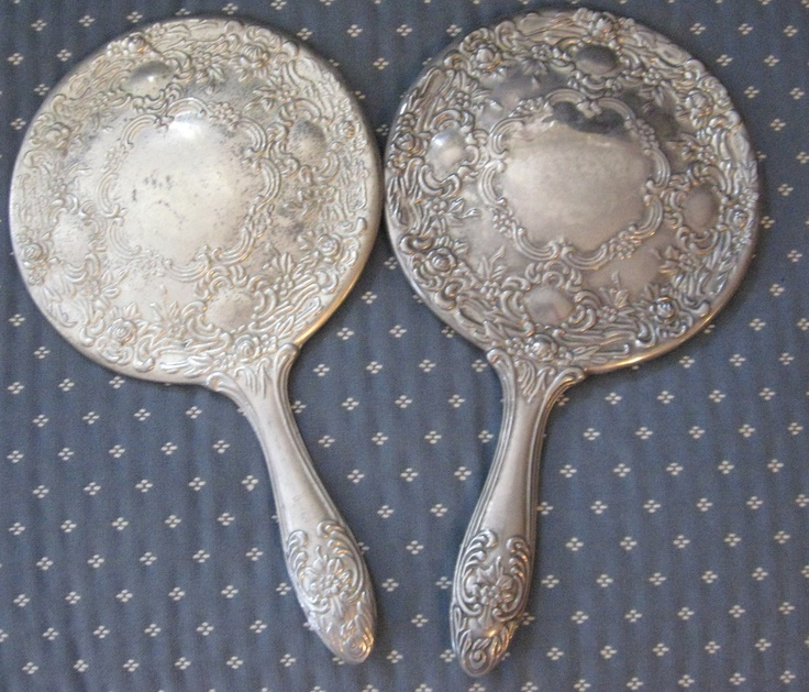 hand holding antique mirror. Simple Mirror Antique Victorian Style Silver Hand Held Mirrors And Holding Mirror N