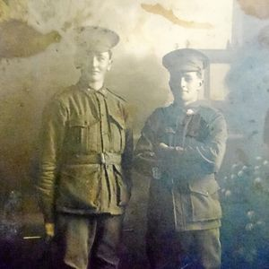 Two mates enlist together and die on the same day