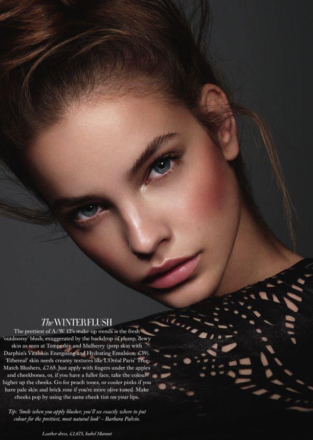 Harper's Bazaar UK Model: Barbara Palvin Photographer: Jonas Bresban Styled by: Pippa Vosper Make-up by: Miranda Joyce Beauty Editorial Fall...