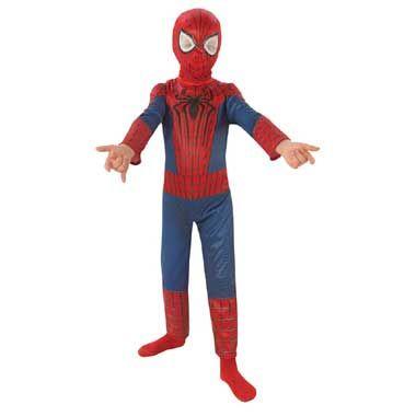 Spider-Man pak met masker - maat 98/116  In dit stoere Spider-Man kostuum weet je een ding zeker: jij blijft weer veel te lang plakken op dat leuke verkleedfeest. Je ziet er super uit in deze kleding. Bekijk van tevoren nog even zo'n mooie Spider-Man film en you're ready to go...  EUR 38.99  Meer informatie
