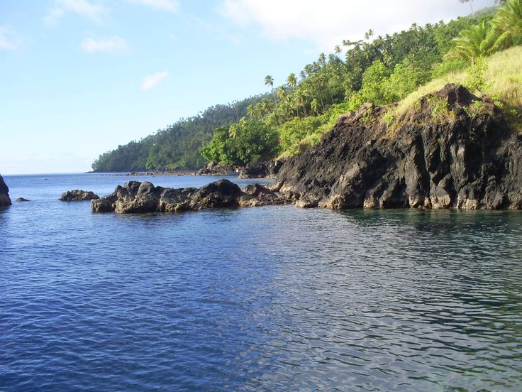 Pantai Temboko Lehi Pantai Air Panas di Sulawesi Utara - Sulawesi Utara