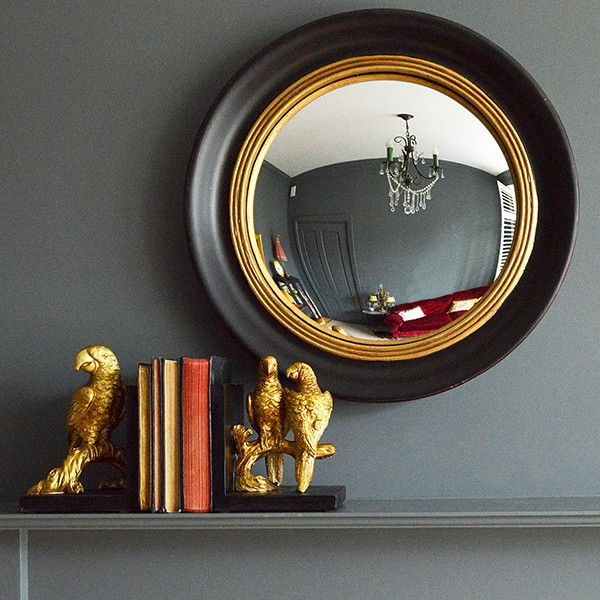 Round+Convex+Porthole+Mirror+-+available+from+MiaFleur