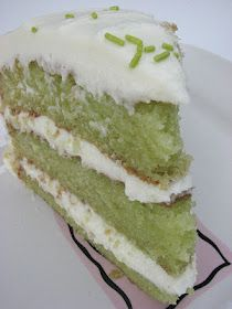 Trisha Yearwood- Key Lime Cake with Cream Cheese Frosting- lime jello is in mix