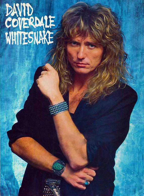David Coverdale - I love this man's voice!