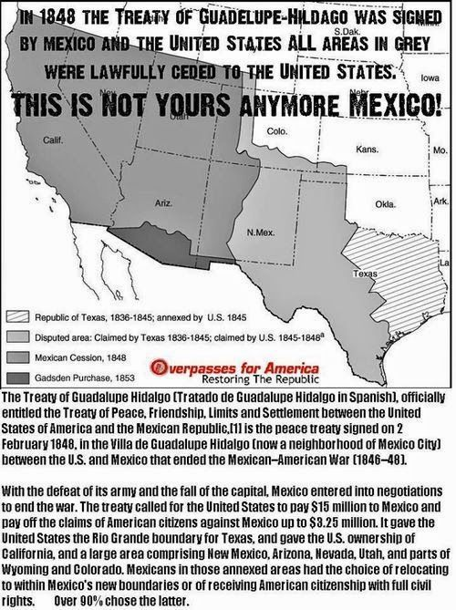 treaty of guadalupe hidalgo essay Free essay: the treaty of guadalupe hidalgo the treaty of guadalupe hidalgo in 1948 would have lasting negative effects on mexican americans the treaty was.