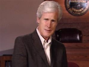 Keith Morrison.  Also of Dateline fame...he is also Matthew Perry's stepfather.