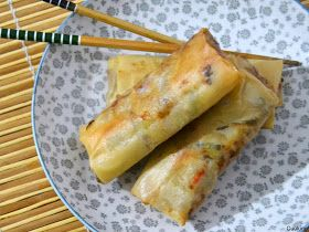 Cuuking!: Rollitos de primavera caseros (fritos o al horno)