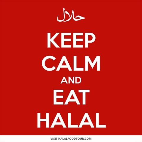Keep Calm and Eat Halal-- and come to the @SameersEats Halal Food Tour!  www.halalfoodtour.com