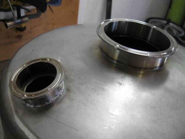 Beverton welding job shop. Stainless steel TIG welding service for brewers in Portland Oregon.