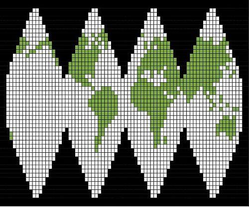 Ravelry: Planeetta Maa pattern by Soile Peltokangas