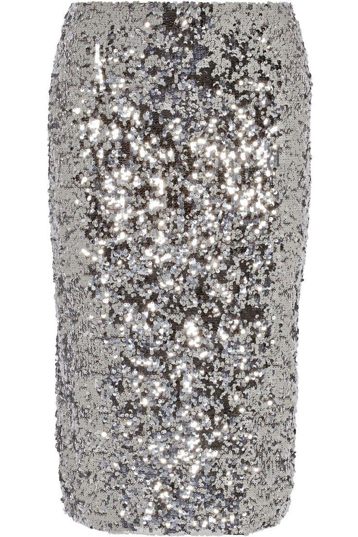 By Malene Birger|Poliio sequined pencil skirt|NET-A-PORTER.COM