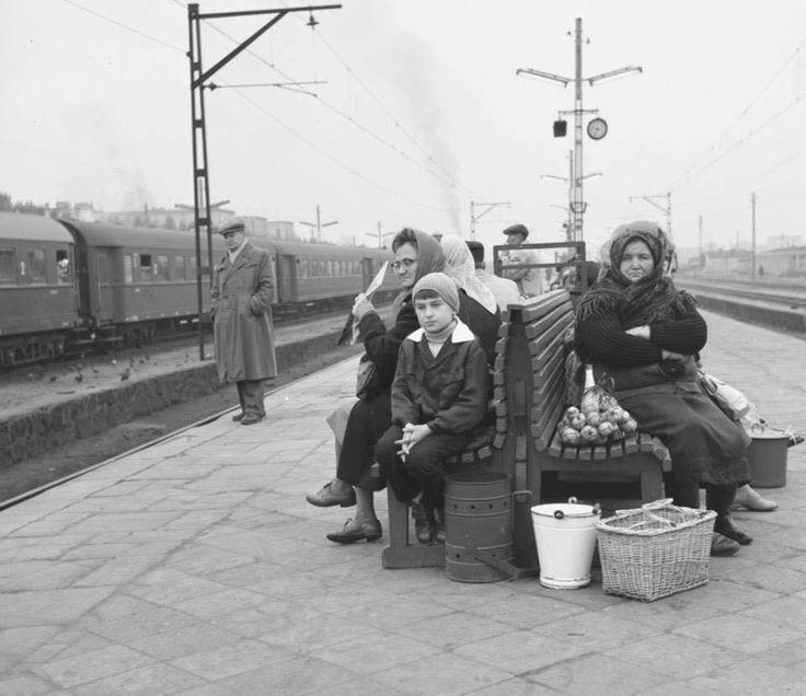 Dworzec Wileński w 1963 roku