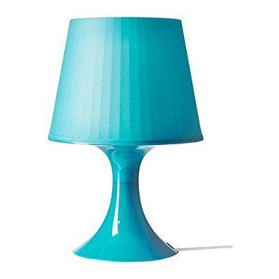 """IKEA lampada da tavolo """"LAMPAN"""" per scrivania, luce morbida atmosfera - altezza 29 cm - colori assortiti turchese"""
