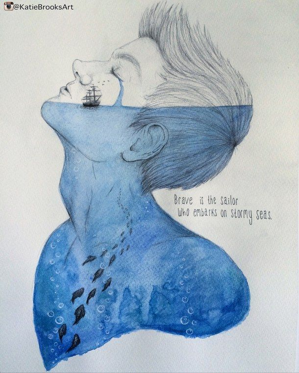 art, artwork, autumn, beach, boy, boys, creative, cute, deep, drawing, fall, halloween, hot, illustration, inspire, love, ocean, painting, pencil, quote, sailing, sea, ship, summer, text, tumblr, watercolor, words