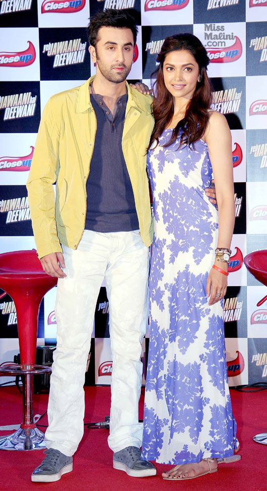 Deepika Padukone and Ranbir Kapoor promoting 'Yeh Jawaani ...  Deepika Padukon...