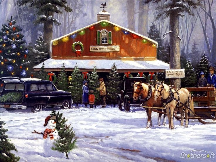 Holiday Tradition by George Kovach * Cut Your Own Christmas Tree Farm