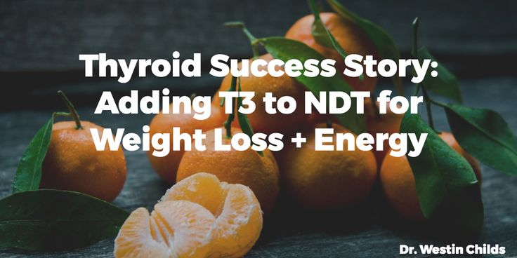 This case study explains why many patients on NDT may have a low TSH but hypothyroid symptoms - adding T3 to NDT can help solve this problem for good.