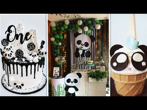 The Use Of The Cute Panda In Decorating Birthday Party تزين حفلة عيد الميلاد بزينة دب الباندا Youtube Holiday Decor Birthday Holiday