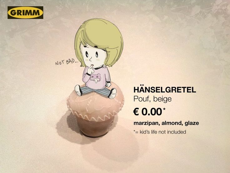 When #Grimm tales meet #Ikea