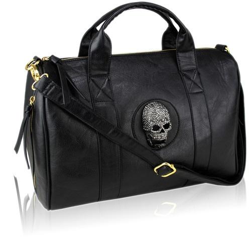 Rhinestone Ladies Skull Handbag UK | eBay