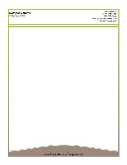 126 best Download images on Pinterest Letterhead, A4 and Contact - free printable business letterhead templates