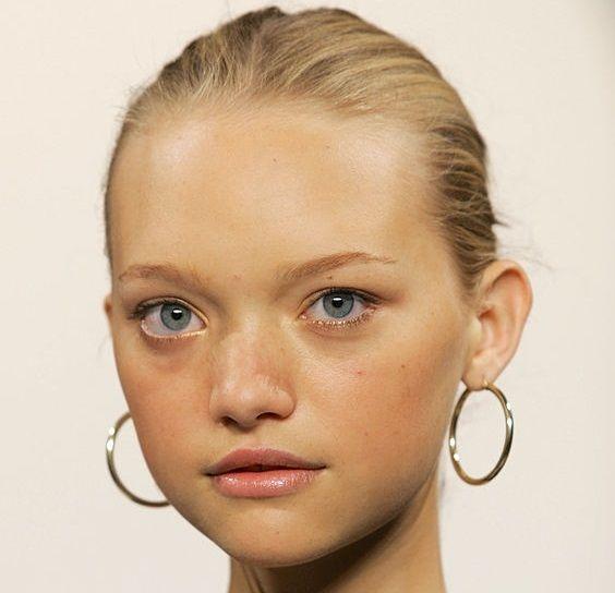 GEMMA WARD x RALPH LAUREN SS06 hoop earrings