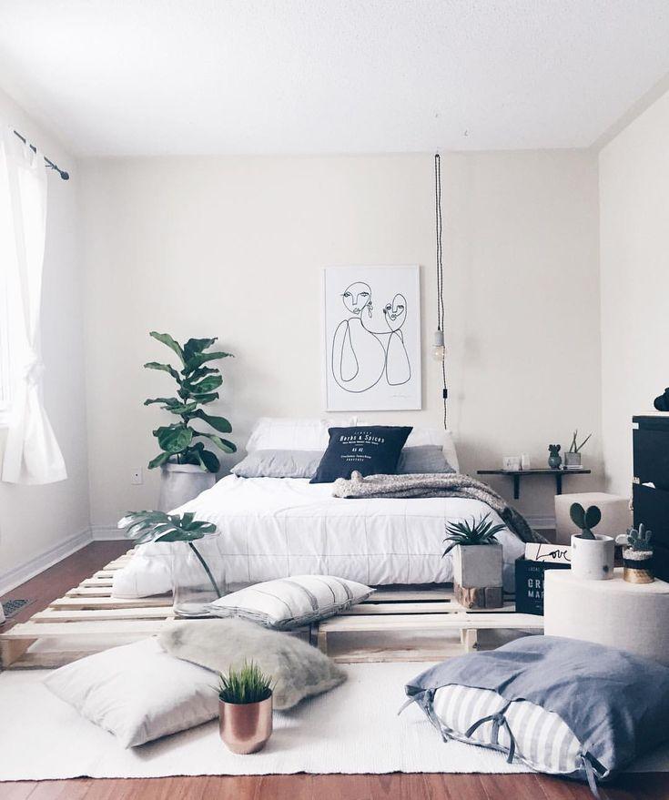 Quick Update Pallet Bed Ideas In 2019 Bedroom