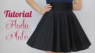 como hacer falda - YouTube