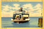 Galveston Ferry--as a small child, I made several trips with my parents to/from Galveston from Port Arthur--the things that impressed me the most were the ferry ride that I loved, and the nickel slot machines at the ferry terminal that I was allowed to play