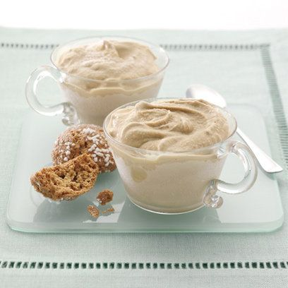 Refreshing and easy to make yourself - coffee ice cream is our new favourite barbecue essential...