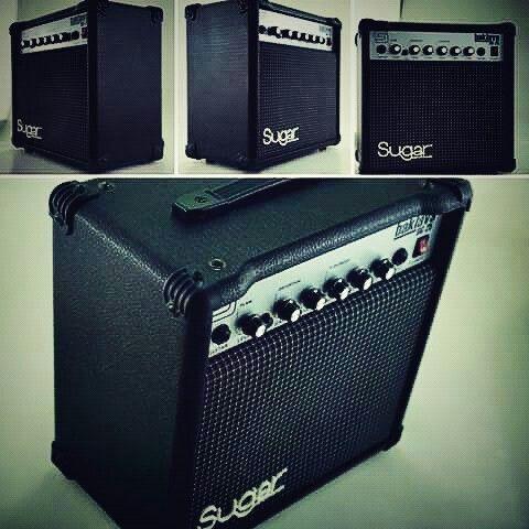 sugar BG25 25watt guitar amplifier 8inci 8ohm custom speaker