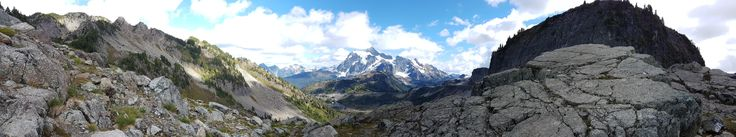 Mount Baker-Snoqualmie National Forest Panorama [OC][9254x1729]