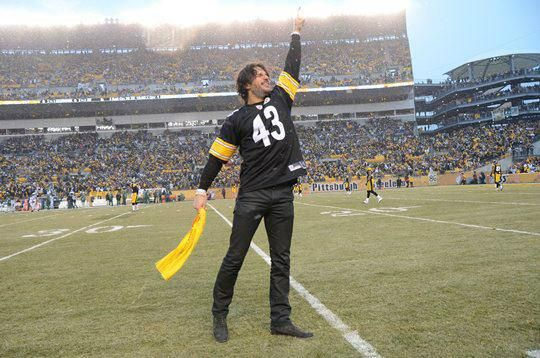 Joe Manganiello to lead the Terrible Towel Wave at tonight's Pittsburgh Steelers game