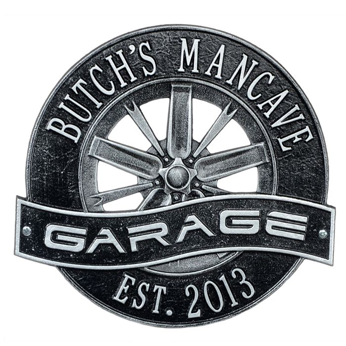 127 best personalized garage signs images on pinterest for Location plaque garage